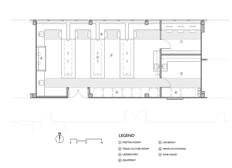 Pratt Lab Floor Plan-Model