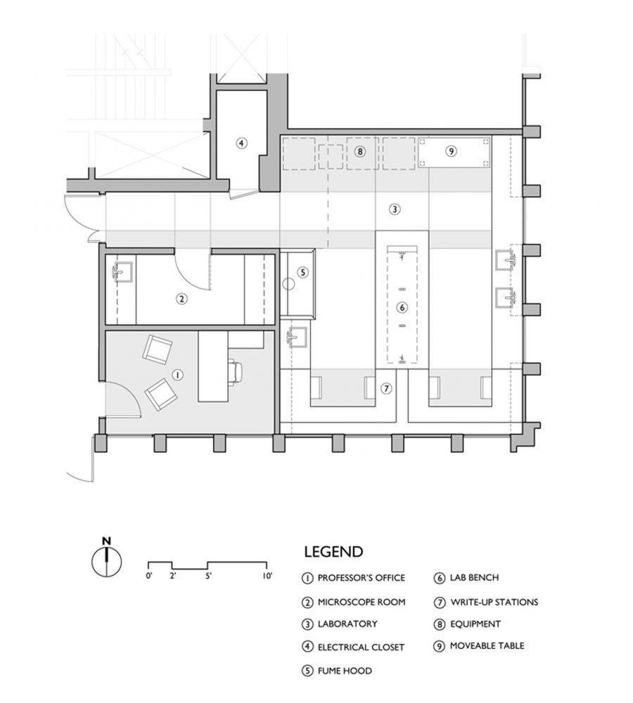 Kanoski Lab Floor Plan Option D