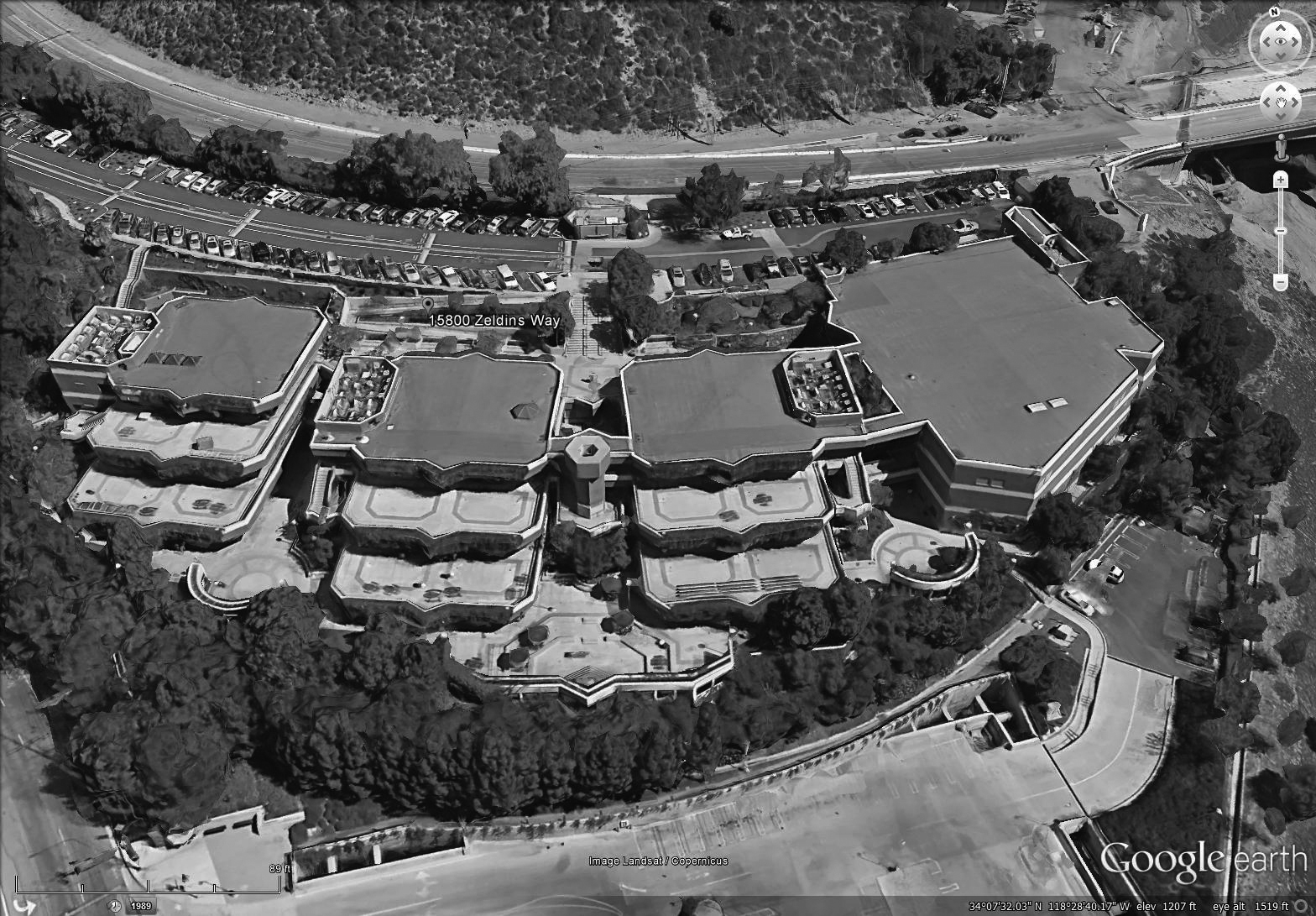 Aerial Before bw